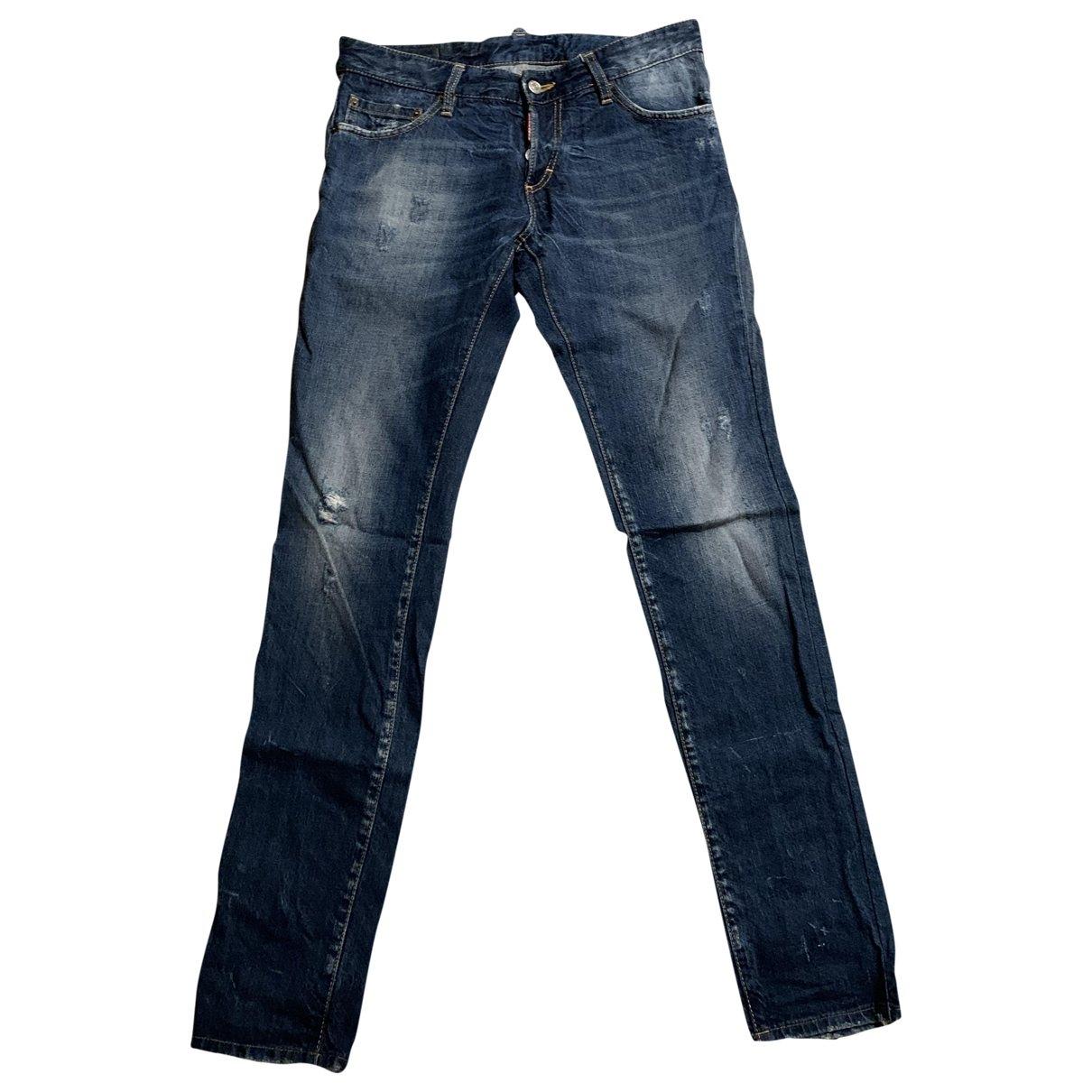 Dsquared2 \N Blue Jeans for Men 46 FR