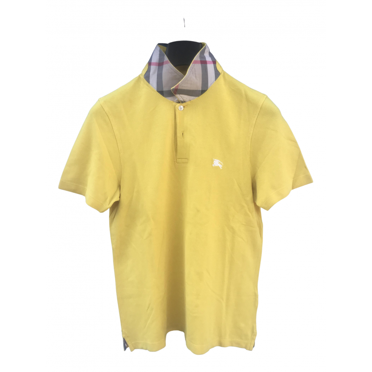 Burberry N Yellow Cotton Polo shirts for Men S International