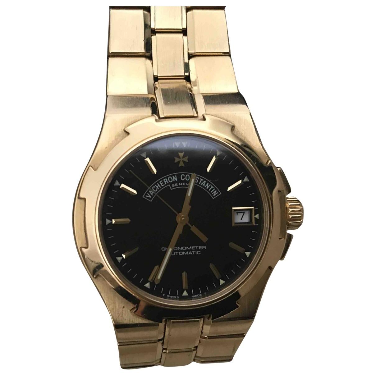 Vacheron Constantin Overseas Uhr in  Schwarz Gelbgold