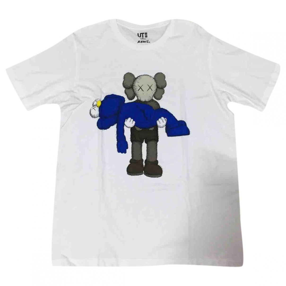 Kaws X Uniqlo \N White Cotton T-shirts for Men XL International