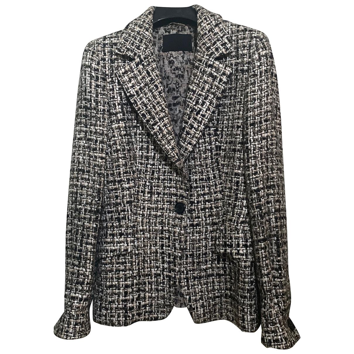 Prada \N Beige Wool jacket for Women 44 IT