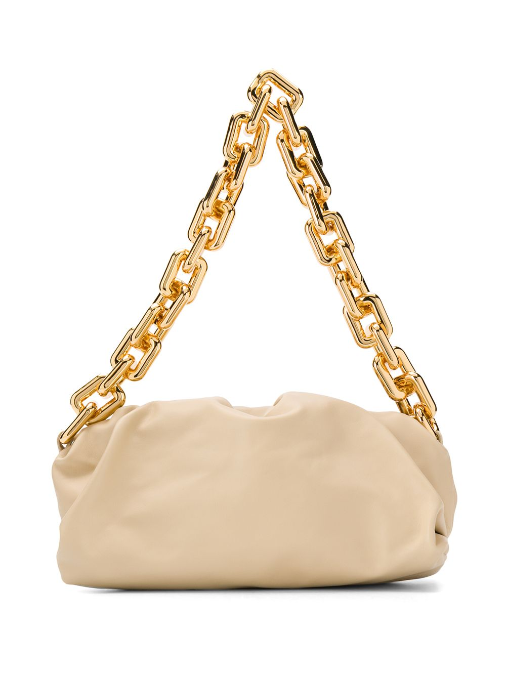 The Chain Pouch Leather Clutch