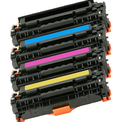 Compatible Canon 118 Toner Cartridge Combo BK/C/M/Y - Economical Box