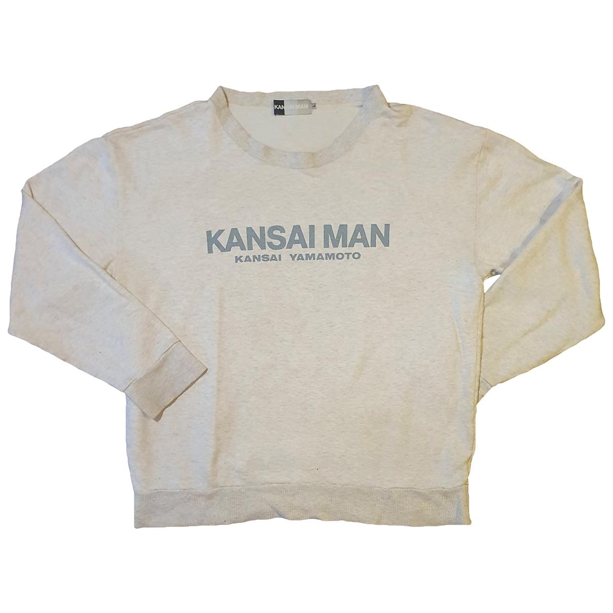 Kansai Yamamoto \N Pullover.Westen.Sweatshirts  in  Grau Baumwolle