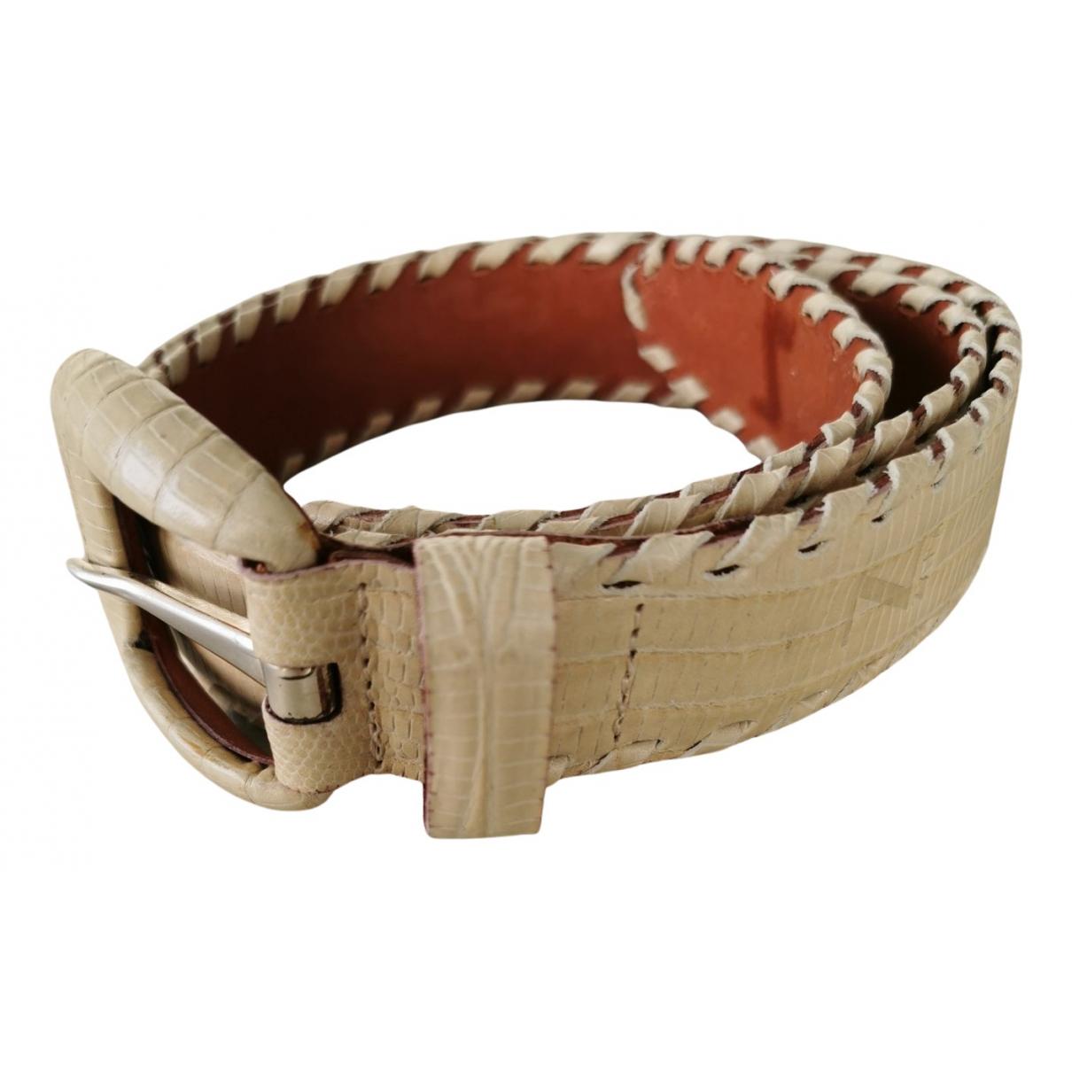 Cinturon de Lagartija Zapa