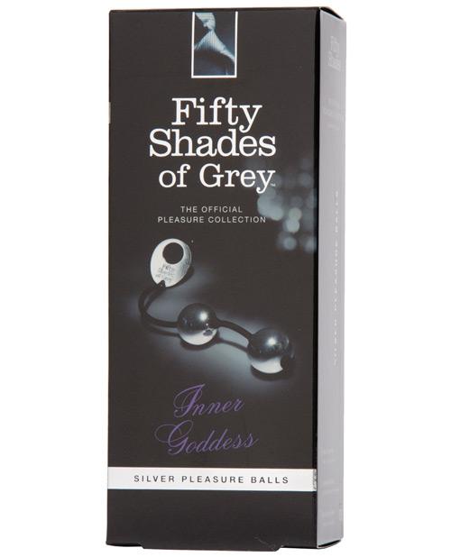 Fifty Shades of Grey Inner Goddess Silver Metal Pleasure Balls