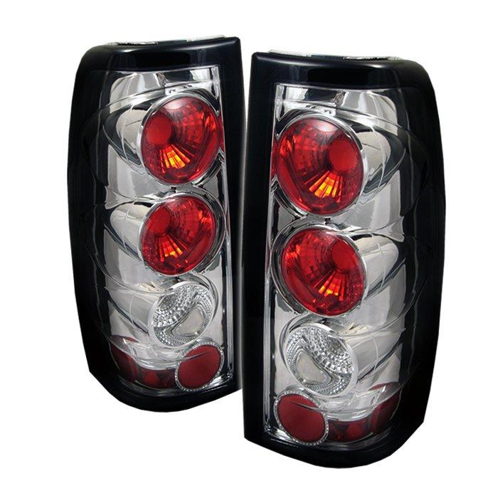 Spyder Altezza Chrome Tail Lights G2 Version Chevrolet Silverado & GMC Sierra 1500/2500/3500 99-02