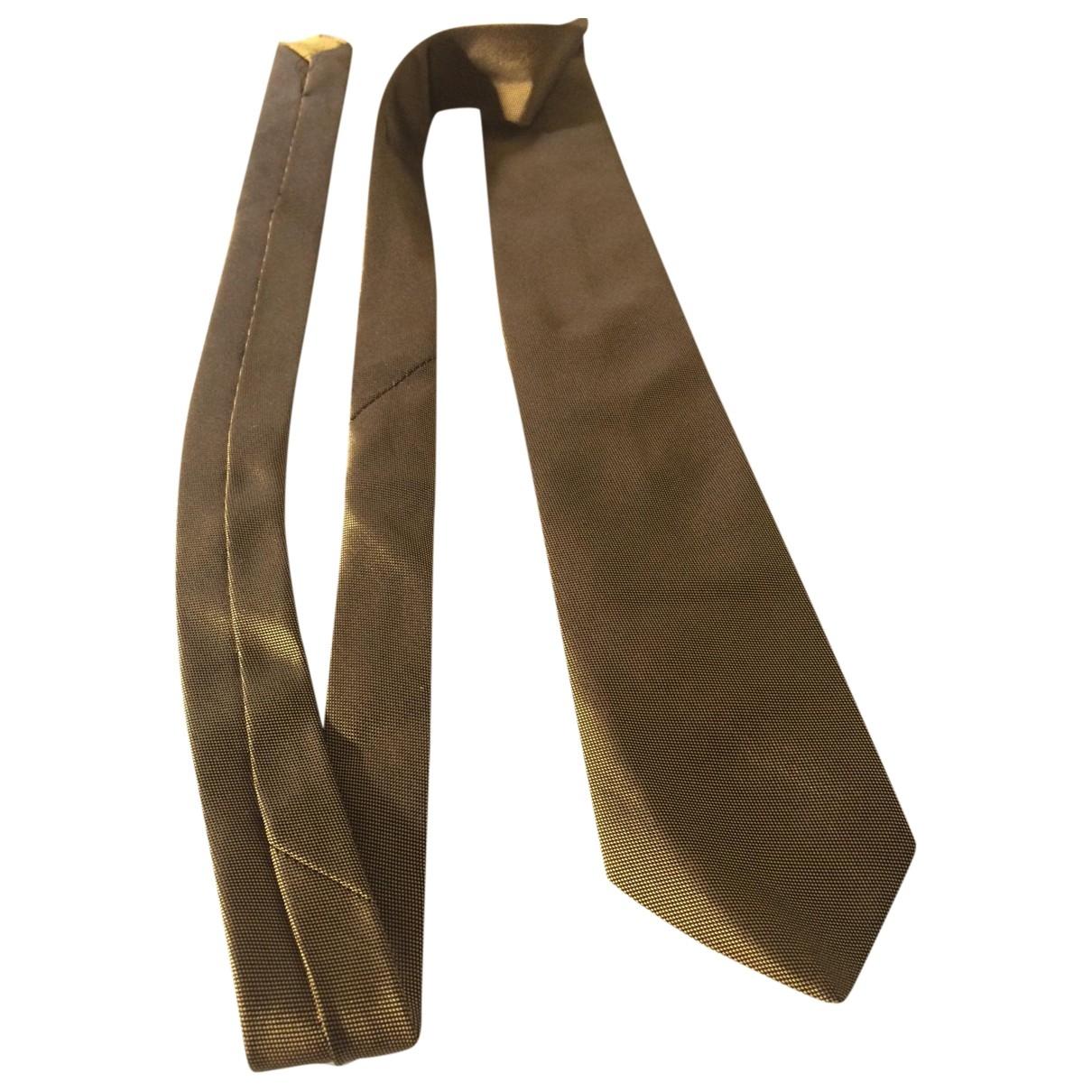 Prada \N Krawatten in  Metallic Seide