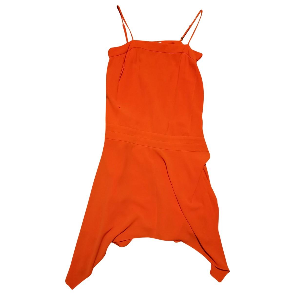 Sandro - Robe   pour femme - orange