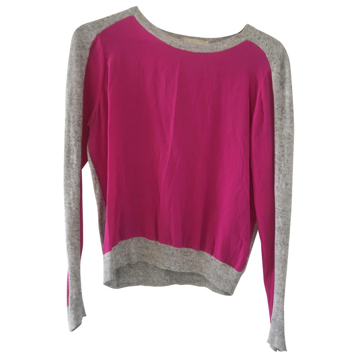 Vanessa Bruno Athe \N Pullover in  Rosa Seide