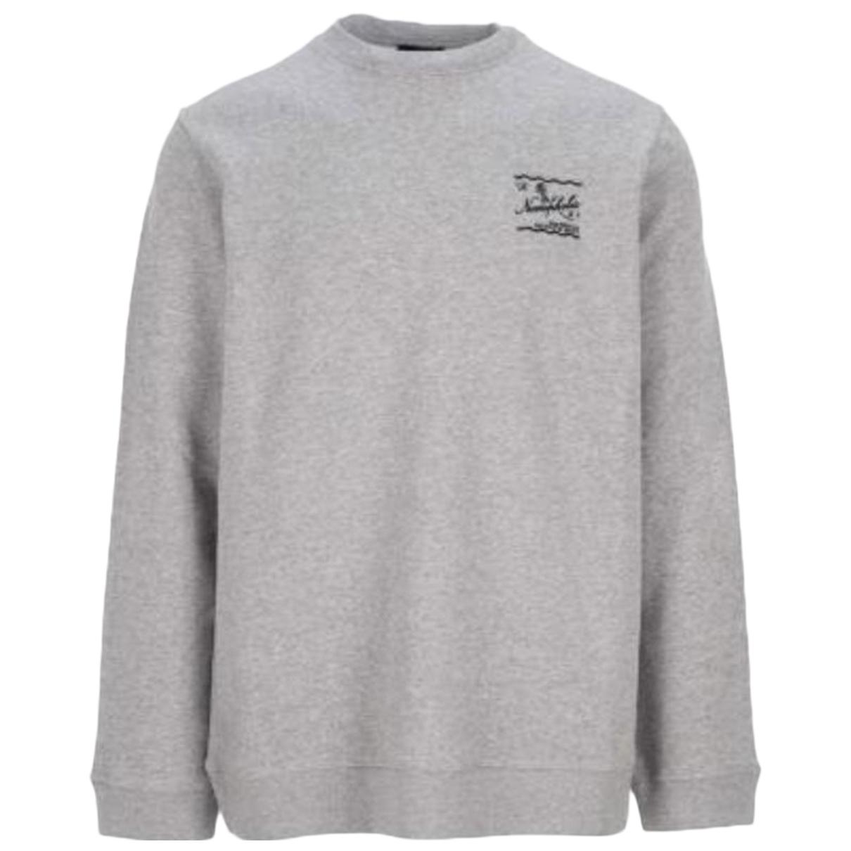 Raf Simons \N Pullover.Westen.Sweatshirts  in  Grau Baumwolle
