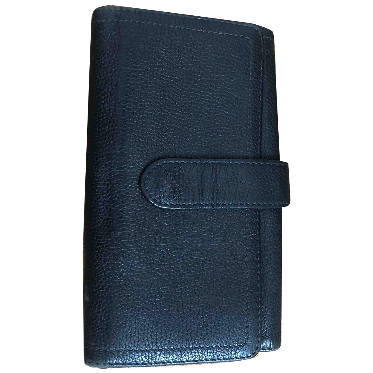 Lancel - Portefeuille Charlie pour femme en cuir - noir