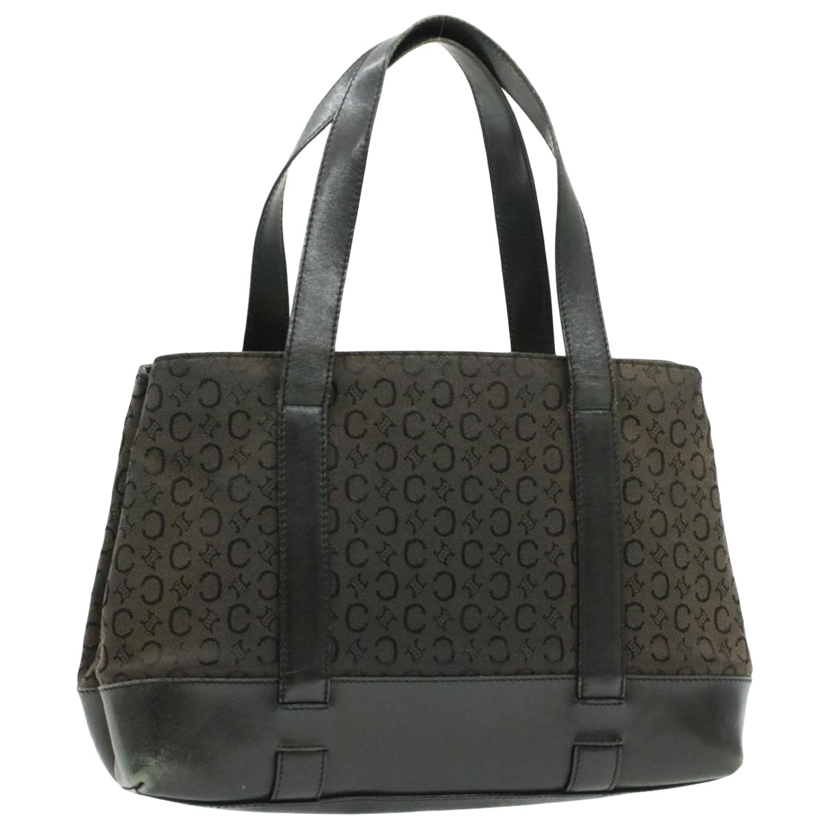 Celine \N Black Cloth handbag for Women \N