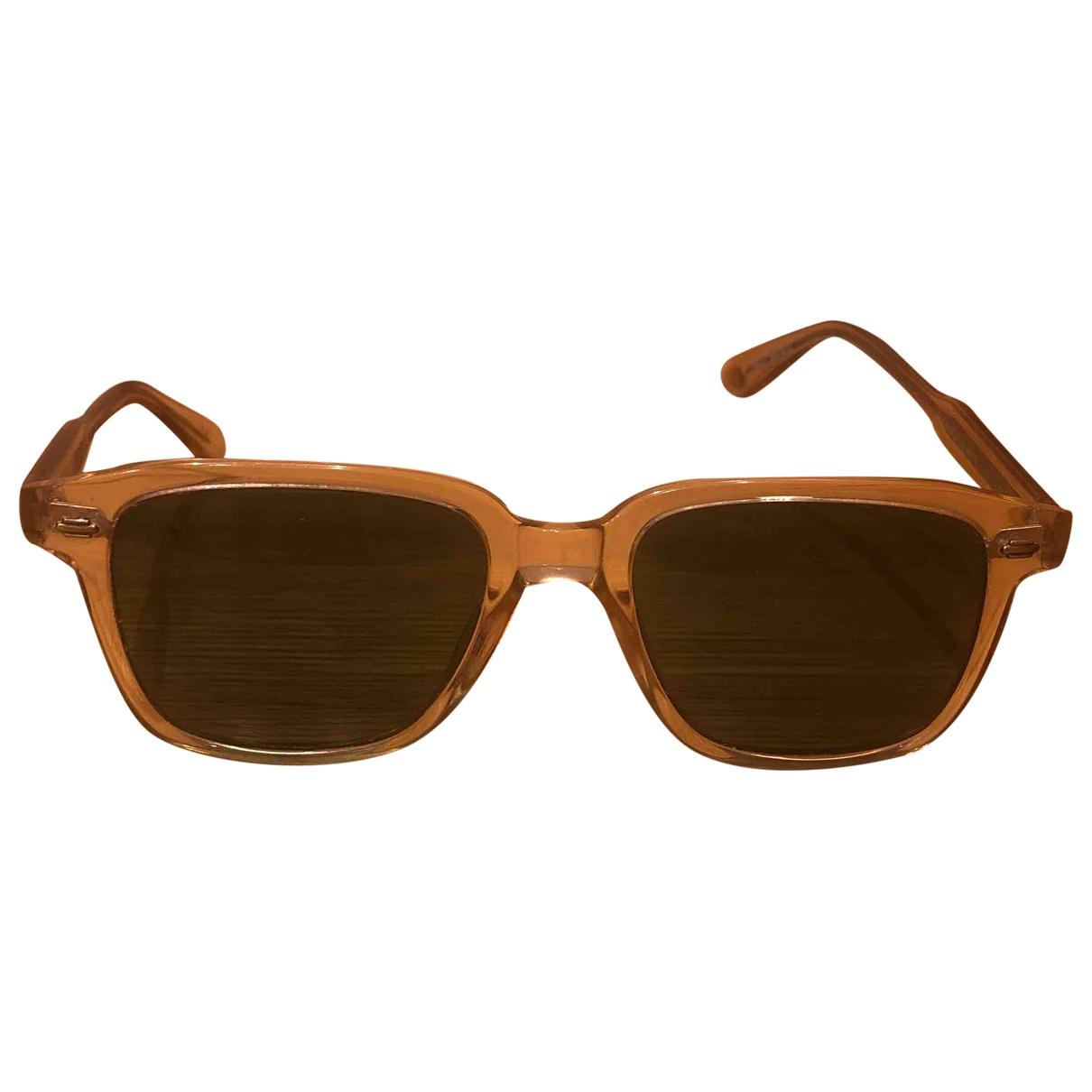 Non Signe / Unsigned \N Sonnenbrillen in  Beige Kunststoff