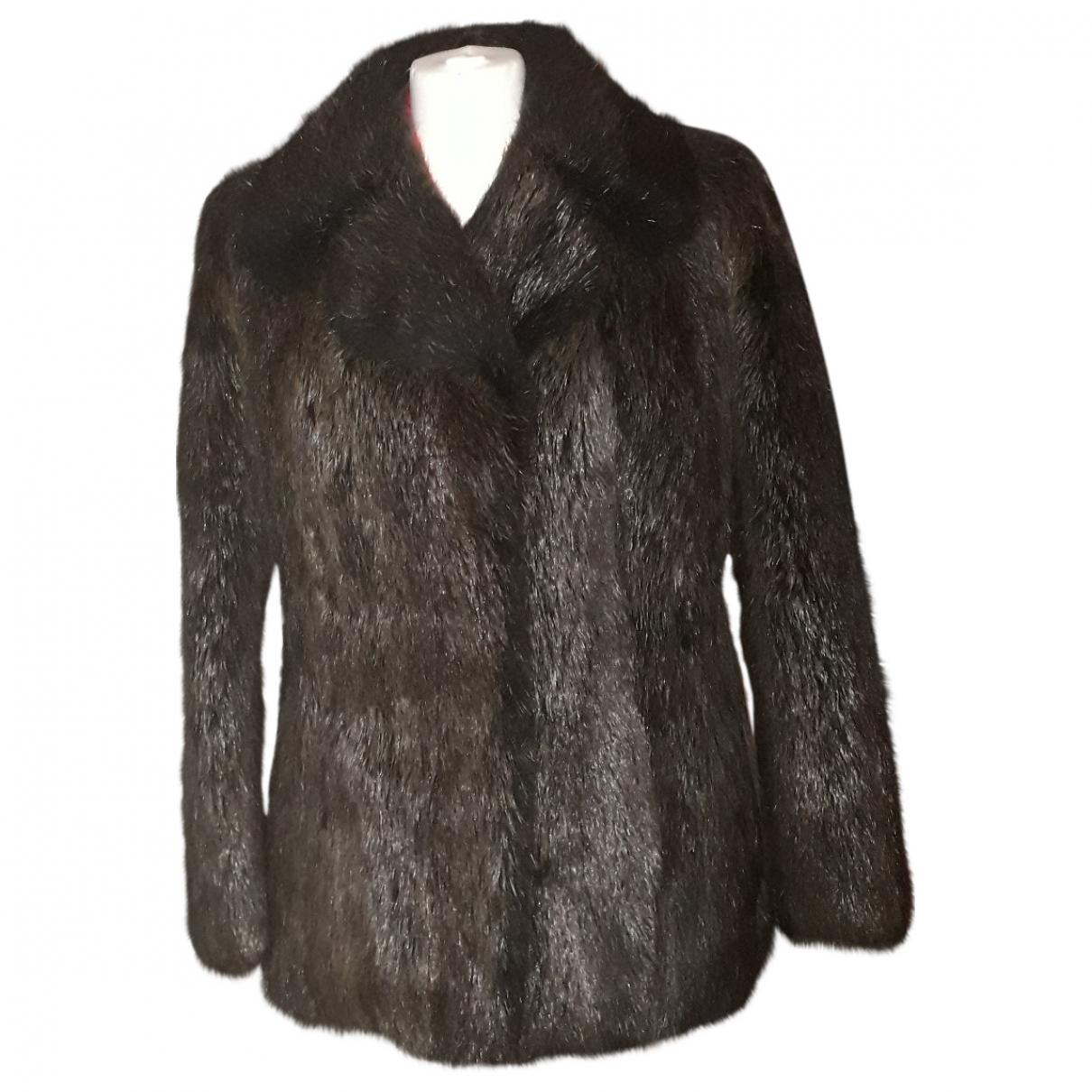 - Veste   pour femme en vison - marron