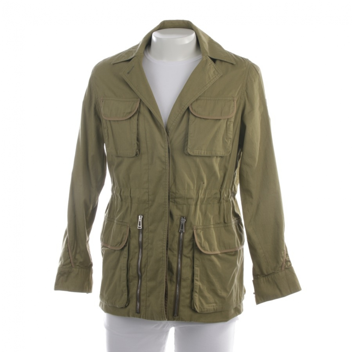 Belstaff \N Green Cotton jacket for Women 38 FR