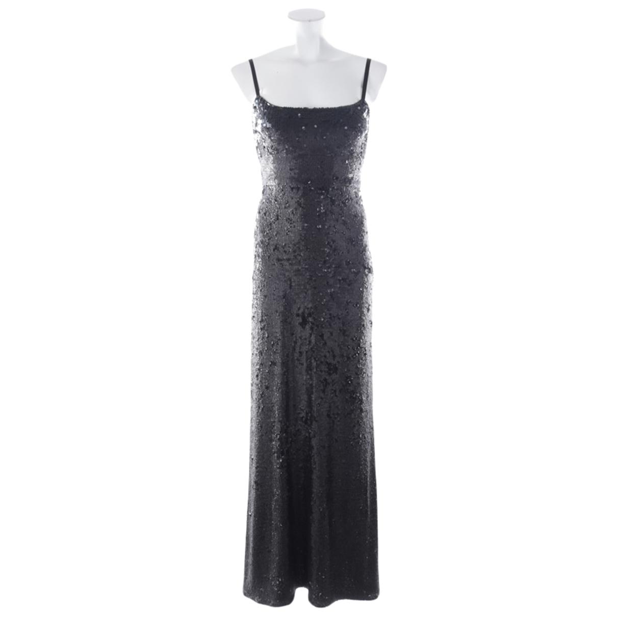 Bcbg Max Azria - Robe   pour femme en a paillettes - noir