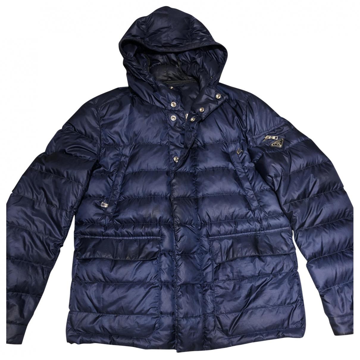 Prada \N Navy coat  for Men 52 IT