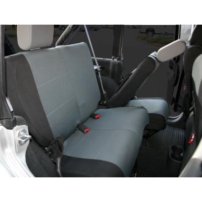 Rampage Custom Fit Polycanvas Seat Cover (Black/Gray) - 5057921