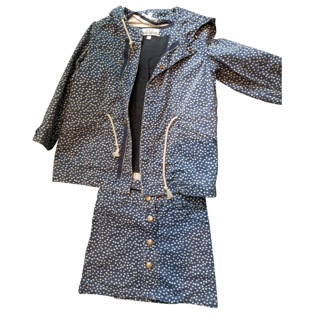 Bonton \N Blue Cotton Outfits for Kids 4 years - up to 102cm FR