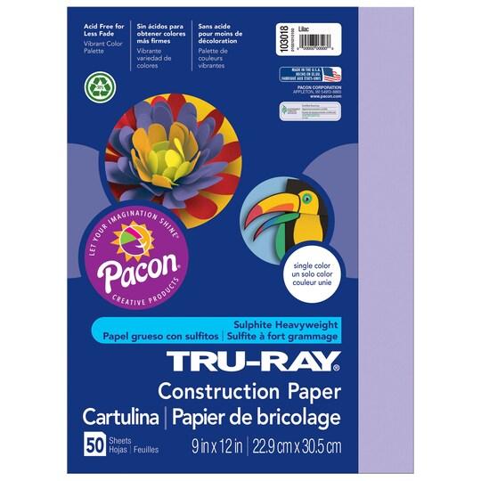 Tru-Ray® Construction Paper, 9