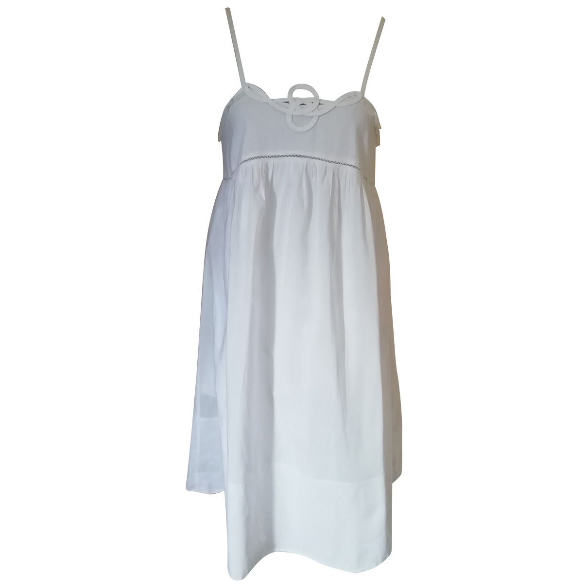 See By Chloé \N White Cotton dress for Women 40 FR