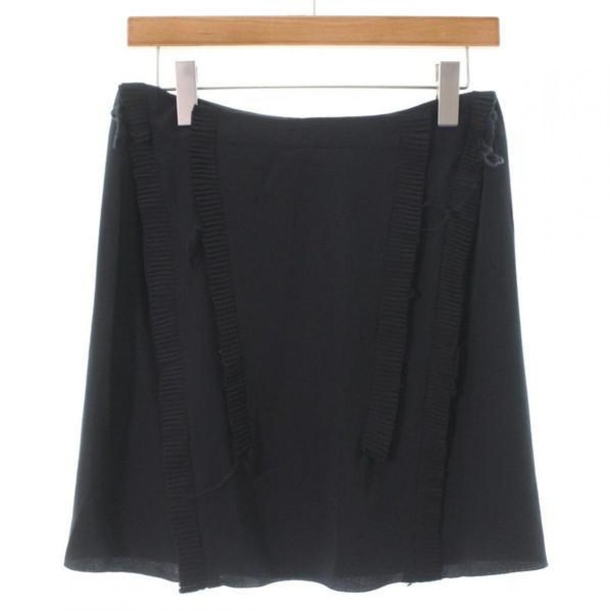 Marni \N Black Silk skirt for Women 40 IT