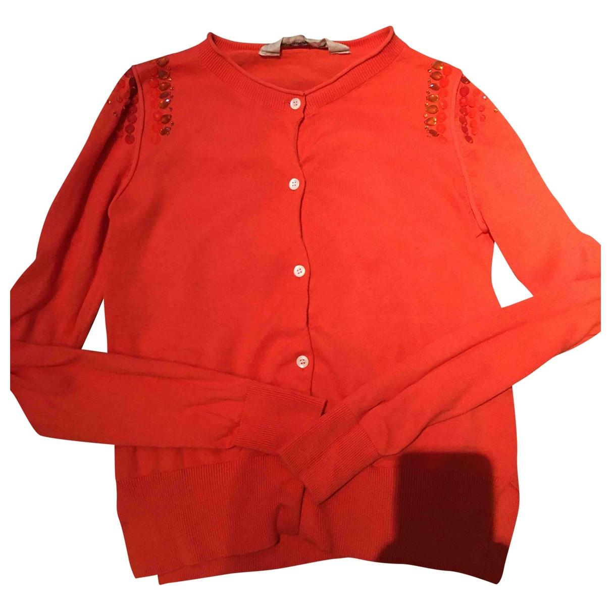 Coast Weber & Ahaus - Pull   pour femme en coton - orange