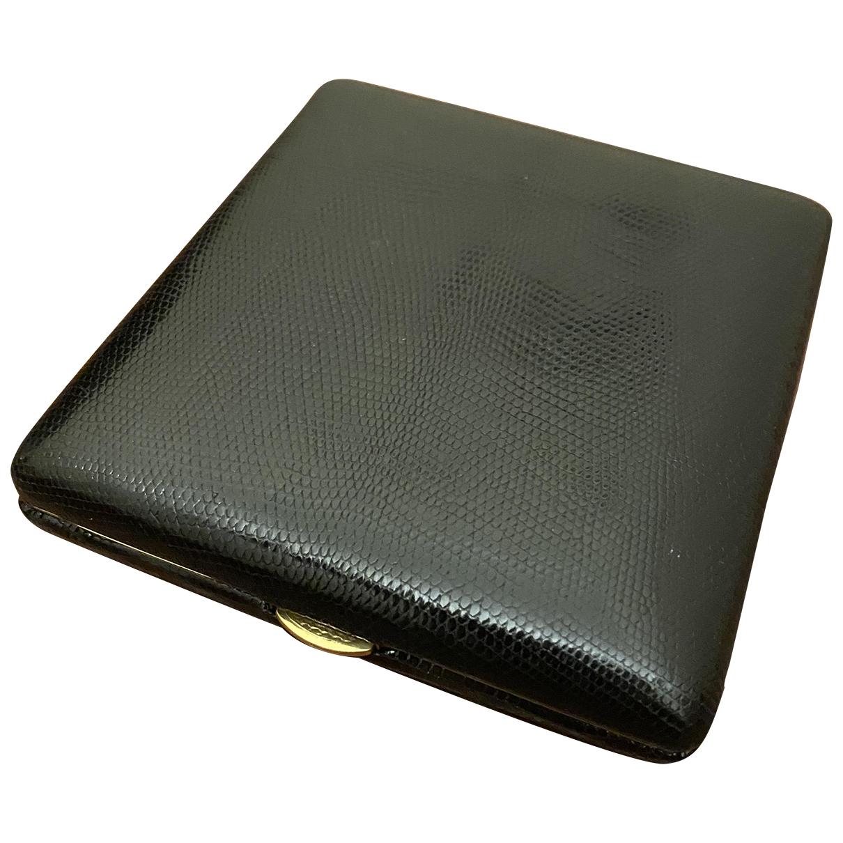 Le Tanneur \N Black Leather Purses, wallet & cases for Women \N
