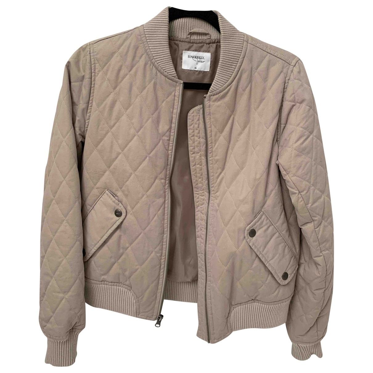 Sincerely Jules \N Beige Cotton jacket for Women XS International