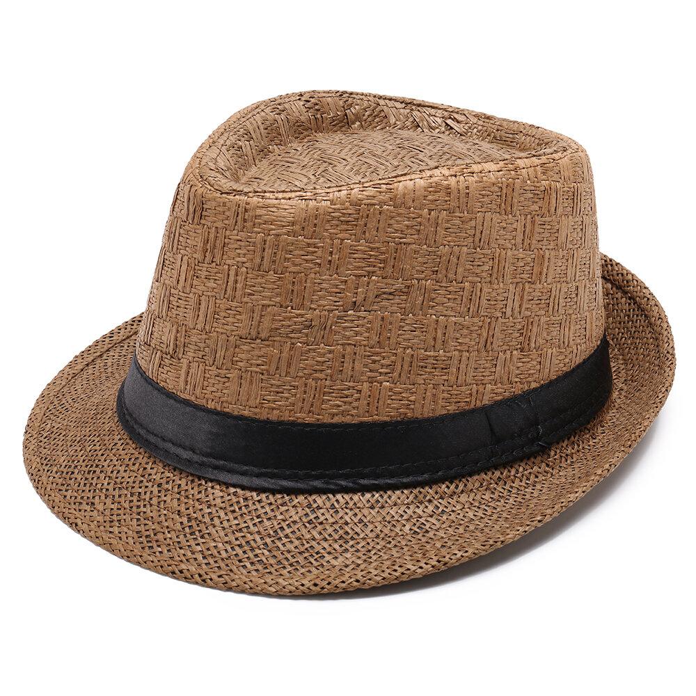Men Women Paper Sunscreen Jazz Cap Outdoor Summer Casual Travel Breathable Hat