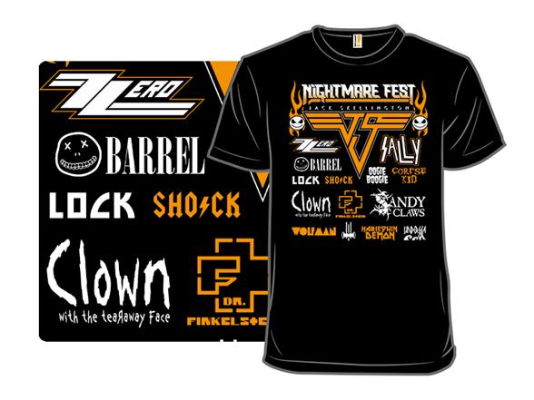 Nightmare Fest T Shirt