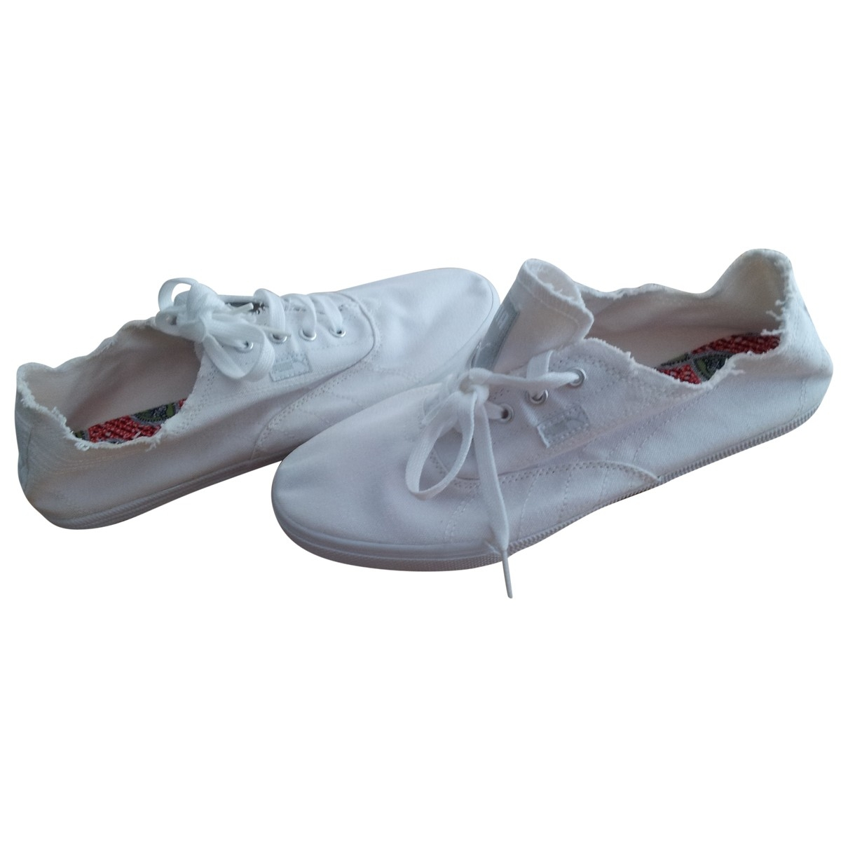 Puma \N White Cloth Trainers for Women 39 EU