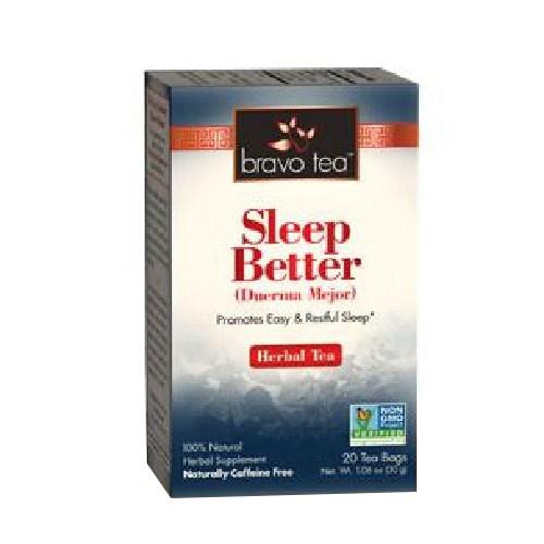 Sleep Better Tea 20 Bags by Bravo Tea & Herbs