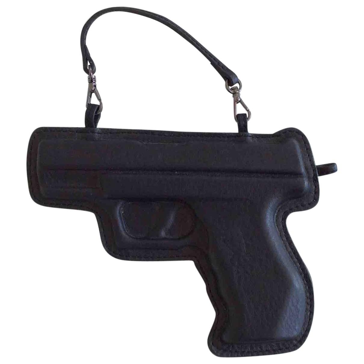 Vlieger & Vandam \N Black Leather Purses, wallet & cases for Women \N