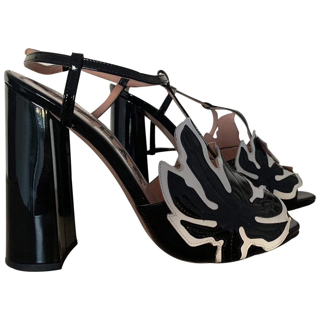 Sandalias de Charol Rochas