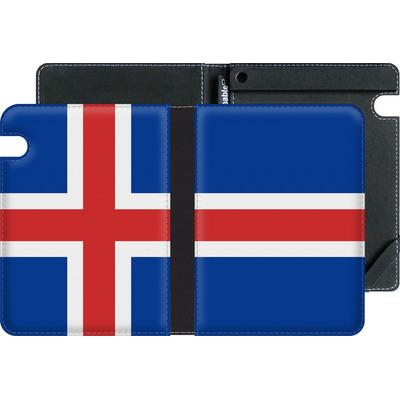 Amazon Kindle Voyage eBook Reader Huelle - Iceland Flag von caseable Designs