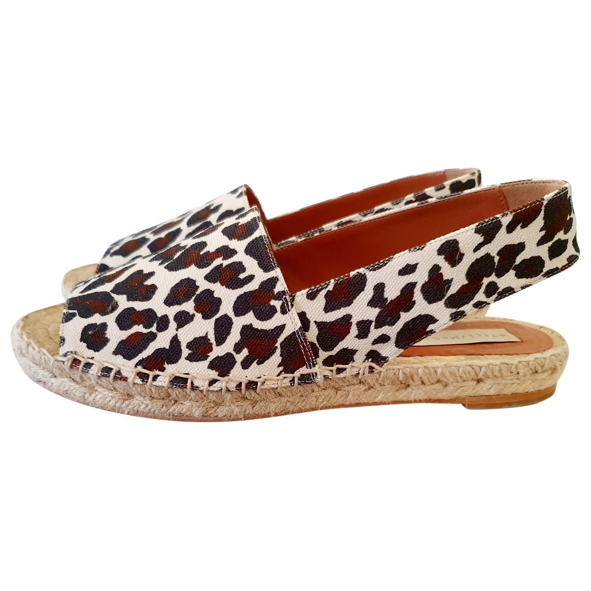 Stella Mccartney \N Espadrilles in  Beige Leinen