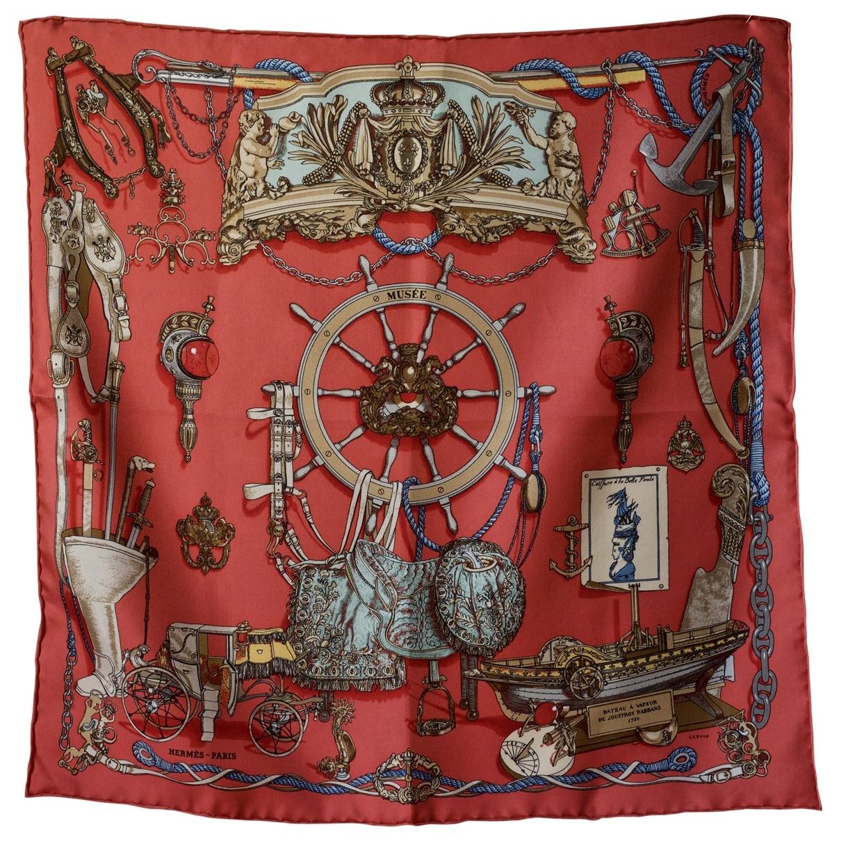 Hermès Gavroche 45 Multicolour Silk scarf for Women \N
