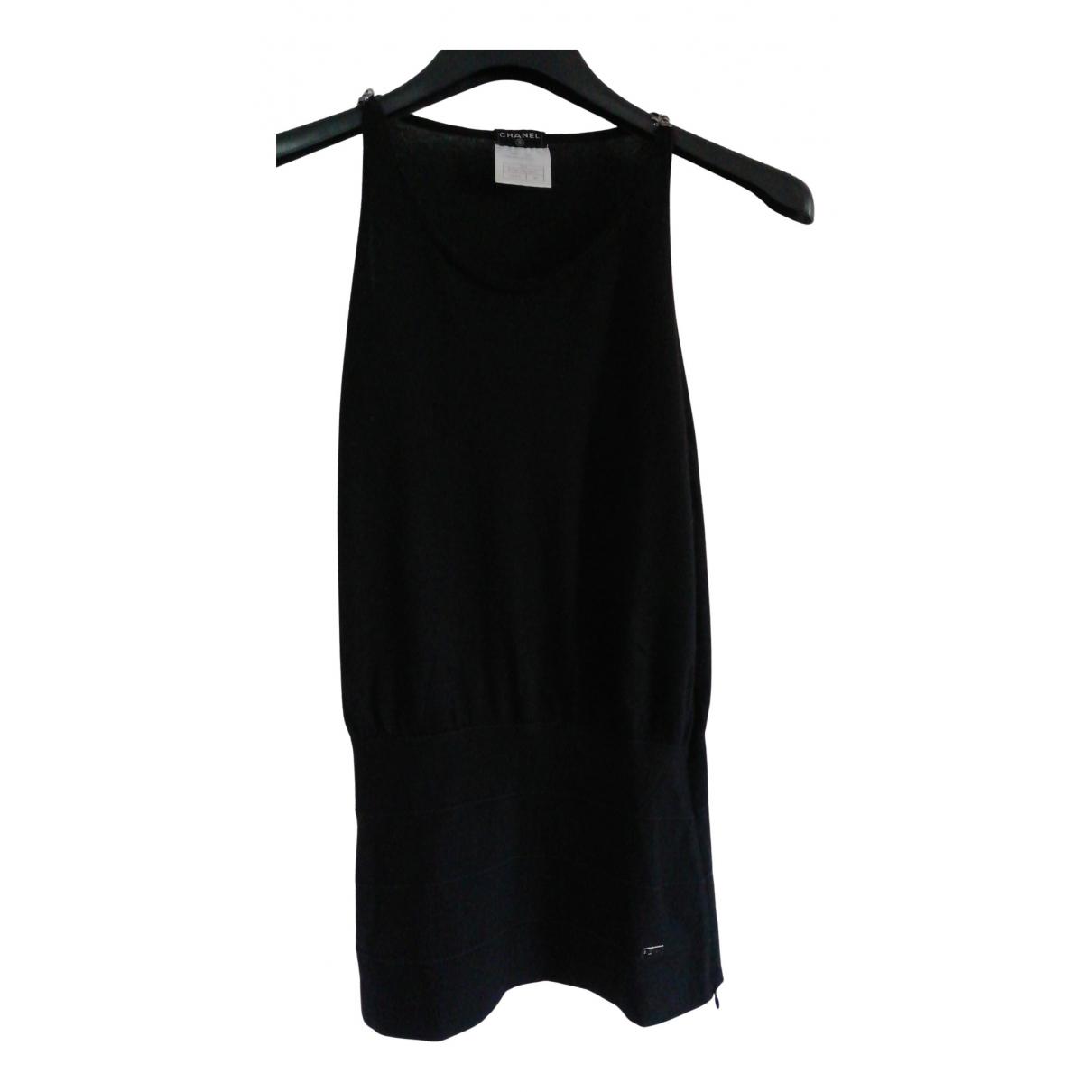 Chanel - Top   pour femme en cachemire - noir