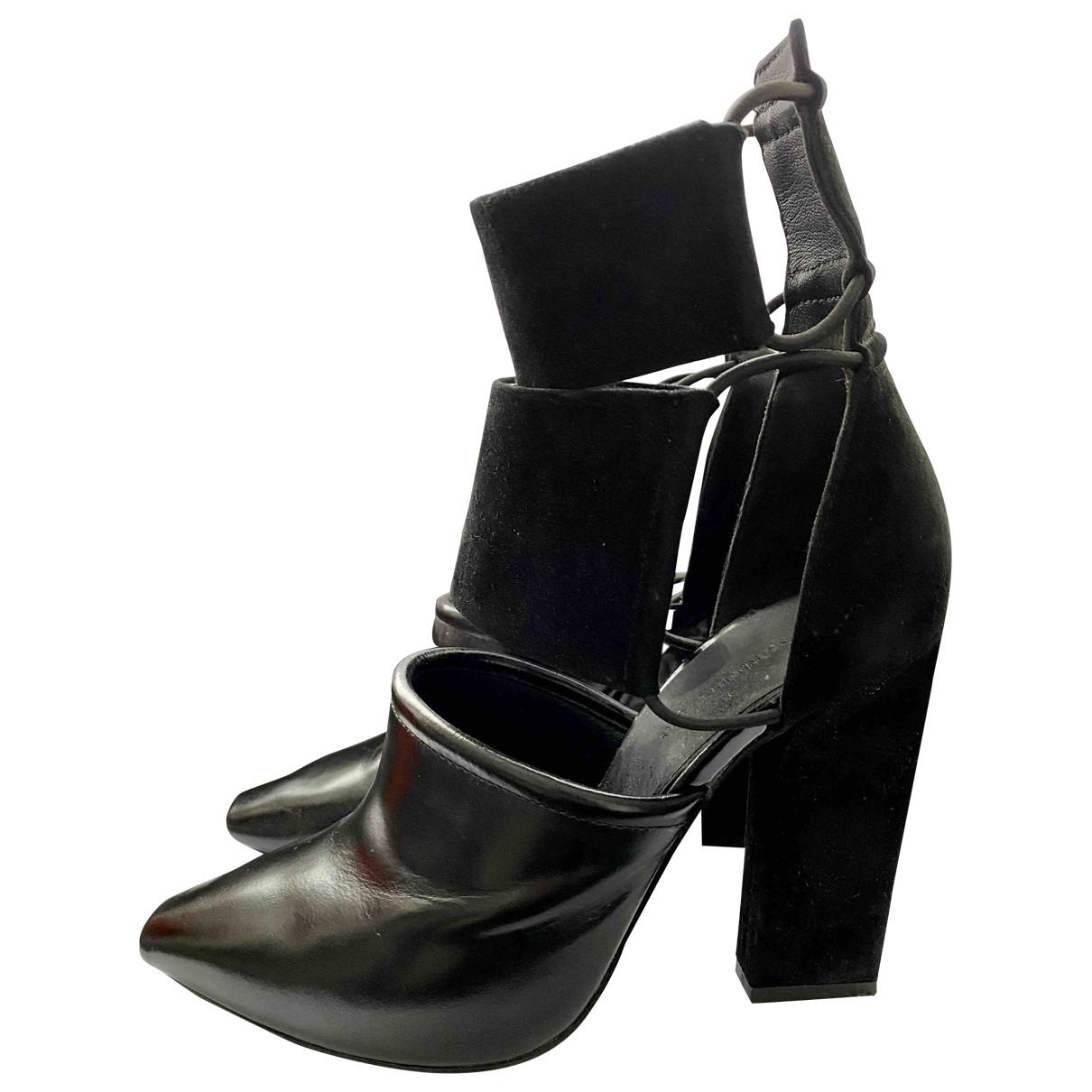 Alexander Wang - Escarpins   pour femme en cuir - noir