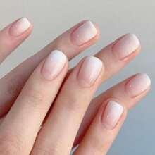 24pcs Simple Fake Nail