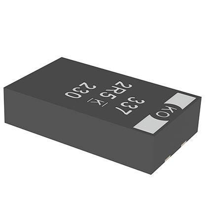 KEMET Tantalum Capacitor 150μF 6.3V dc Polymer Solid ±20% Tolerance , T528 (1000)