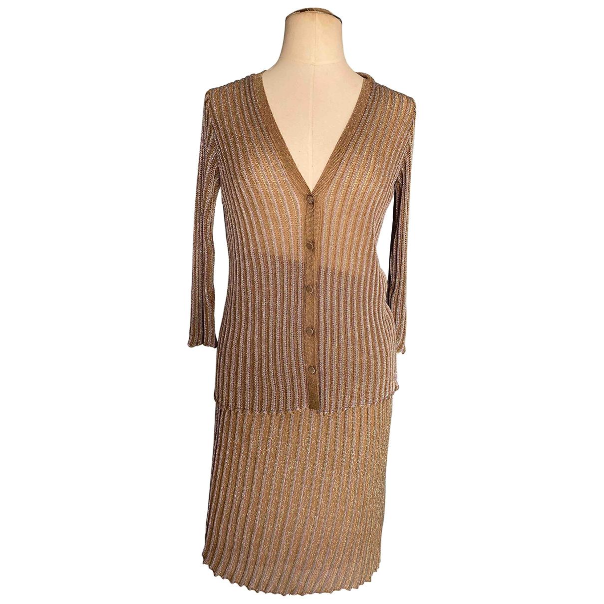 M Missoni - Robe   pour femme - marron
