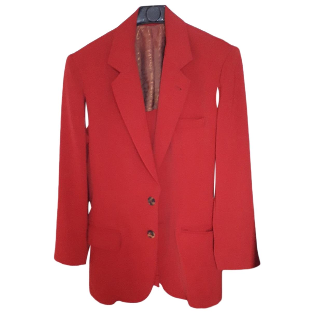 Jean Paul Gaultier \N Jacke in  Rot Polyester