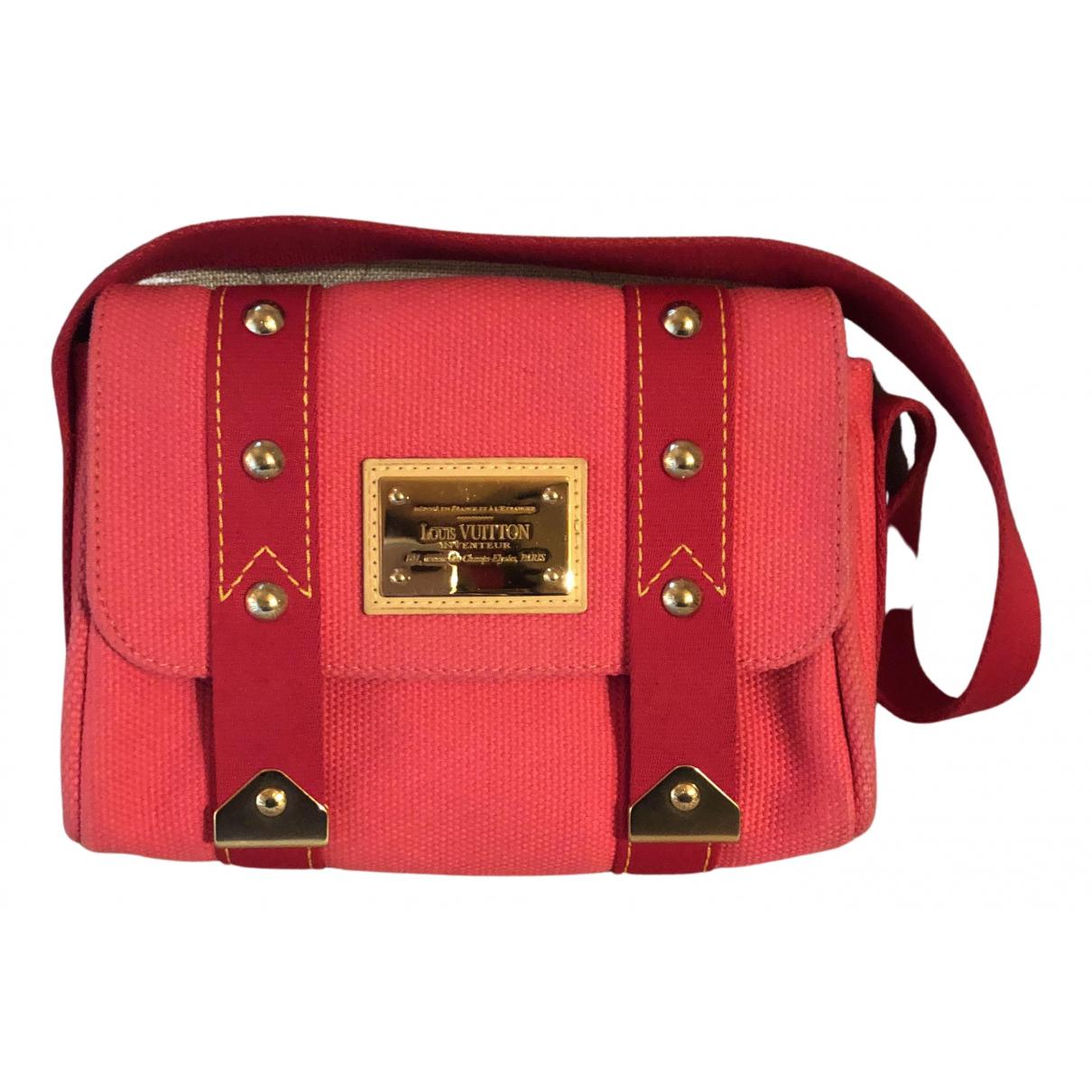 Bandolera Antigua de Lona Louis Vuitton