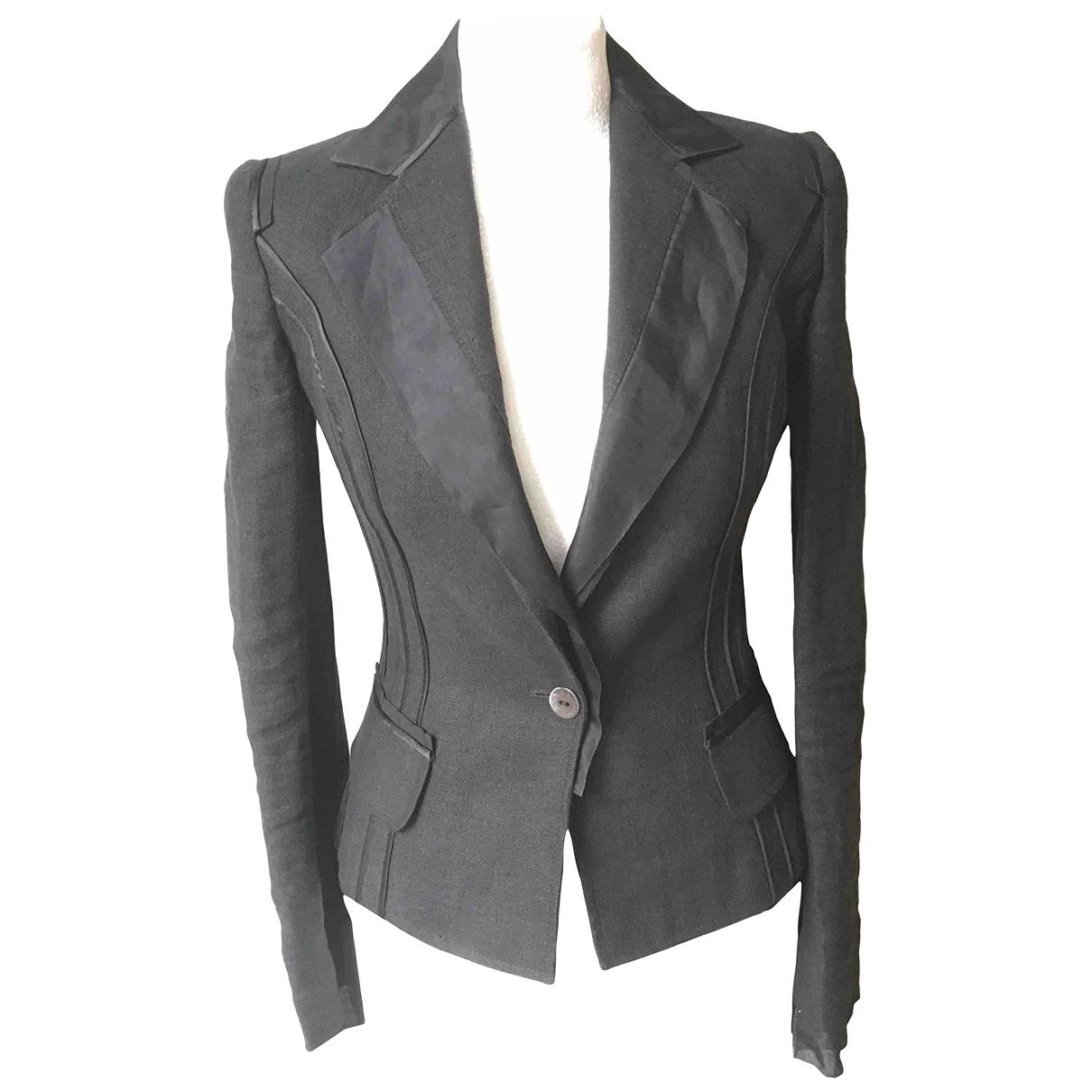 Dolce & Gabbana \N Black Silk jacket for Women 40 IT
