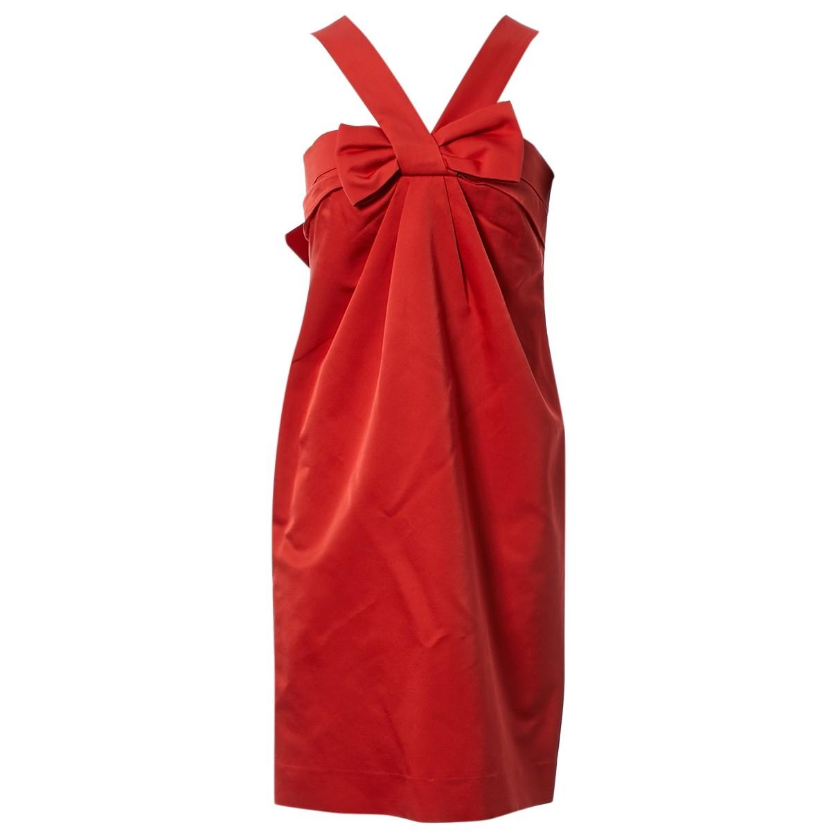 Dior \N Red Wool dress for Women 38 FR