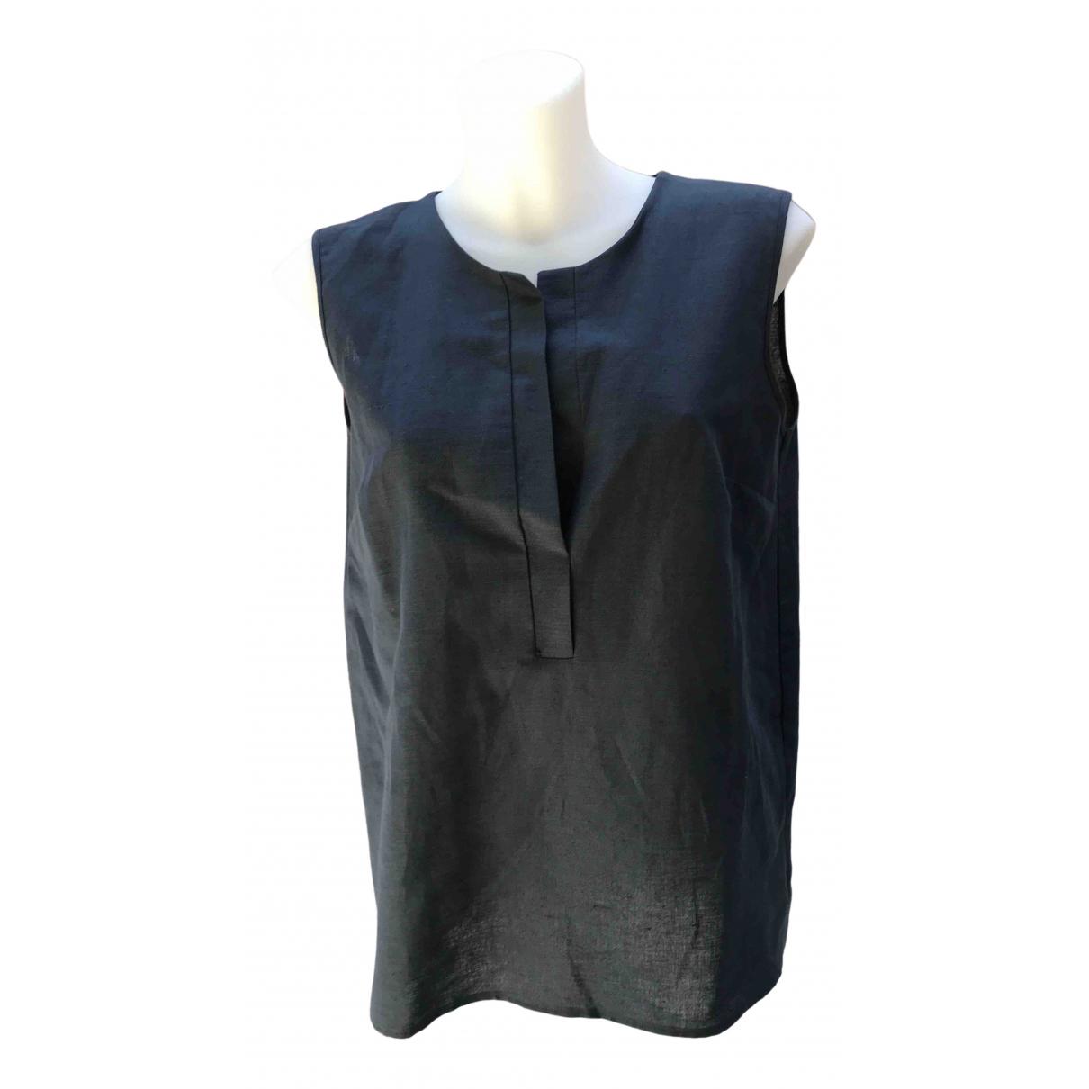 Non Signé / Unsigned \N Blue Linen jumpsuit for Women M International