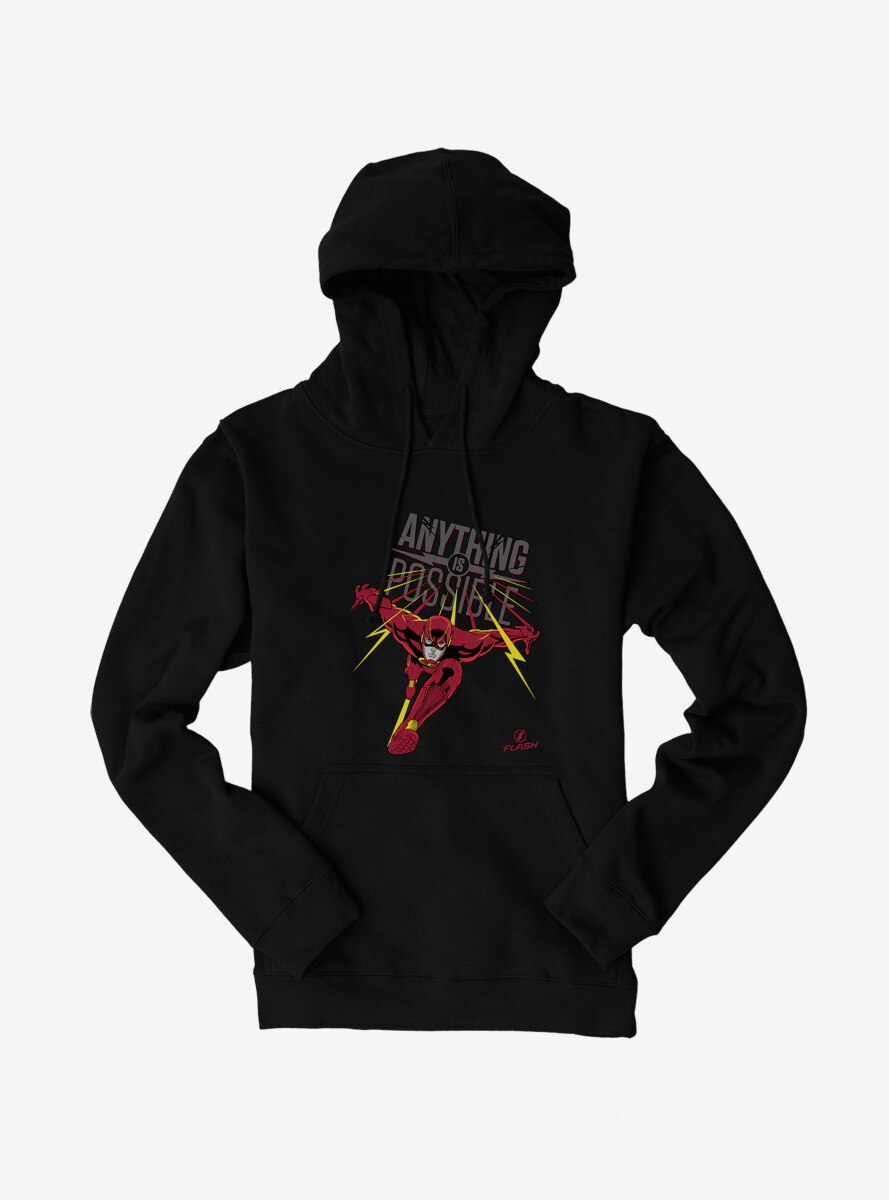 DC Comics The Flash Anything Is Possible Graphic Hoodie